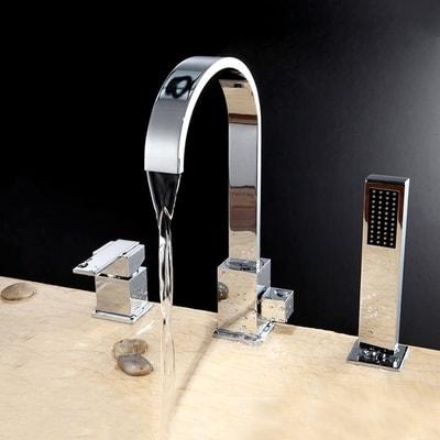 unique vessel bathroom faucets