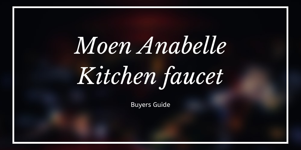 moen anabelle kitchen faucet review