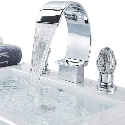 widespread unique bathroom sink faucet