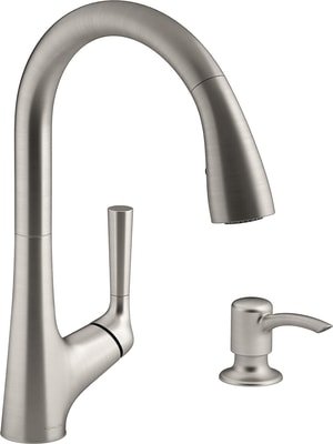 Kohler malleco touchless pull-down kitchen faucet reviews – best touch free kitchen faucet