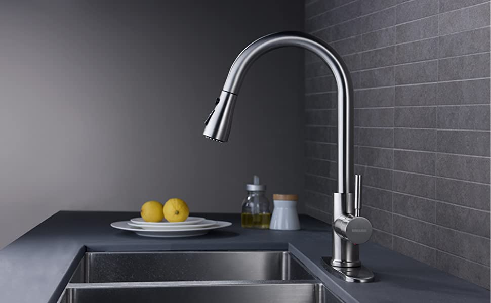 kitchen faucets good for hard water