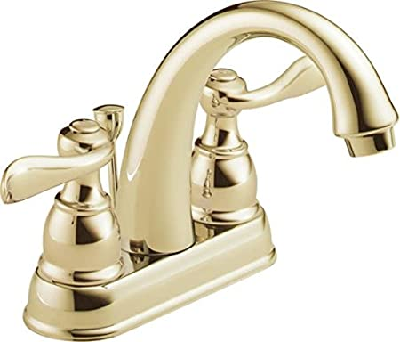 Delta  Windermere Two Handle Bathroom Faucet for Hard Water