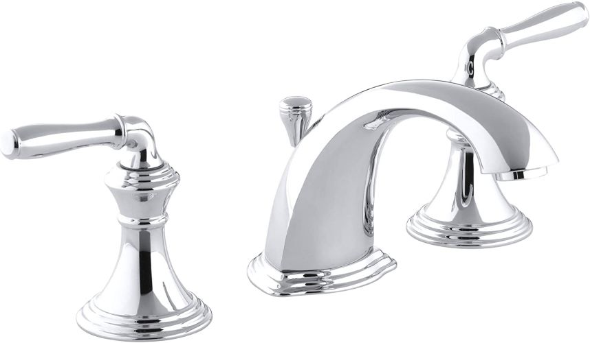 Kohler Devonshire 2 Handle Widespread hard water faucet