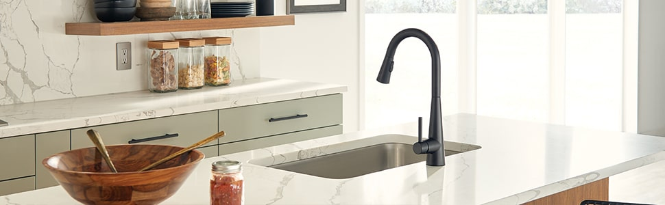 black stainless steel kitchen faucet review
