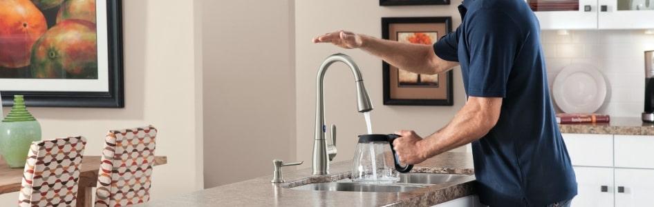 kitchen faucet touchless