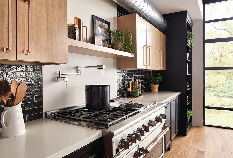 pot filler kitchen faucet review