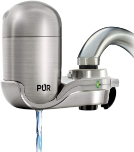 How to clean Pur water filter faucet