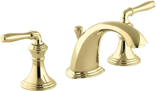 Kohler Gold Widespread Bathroom Faucet