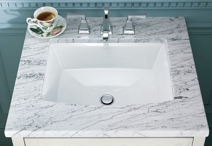 Kohler Bathroom Sink For Quartz Countertop