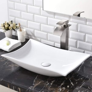 Shaco Rectangle Bathroom Sink