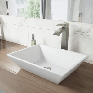 Vigo Rectangle Bathroom Sink