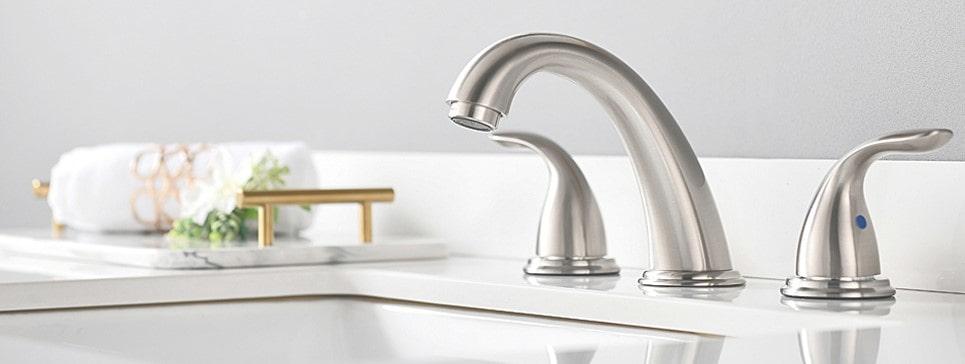 widespread bathroom faucet review