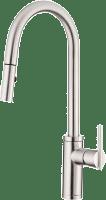 Danze Parma Single Handle Pull Down Kitchen Faucet