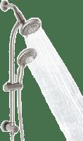 Egretshower Best Multi Shower Head With Slide Bar