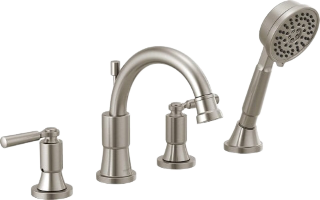 Delta T4759-BL Tub Faucet With Handheld Shower