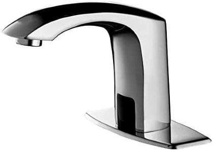 hands free bathroom sink faucet