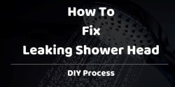 how to fix leaking shower head
