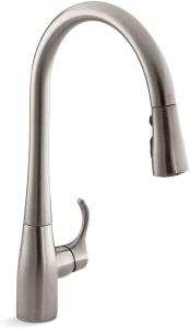 Kohler Simplice Commercial Pull Down Kitchen Faucet