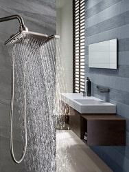 high pressure shower head increase water pressure